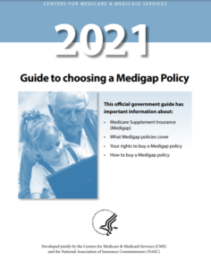 2021 Guide to choosing a Medigap Policy