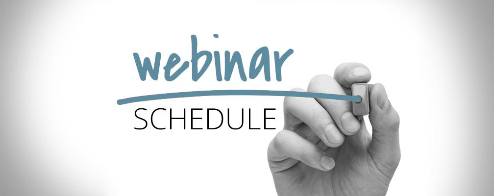Medicare 101 Webinar Schedule