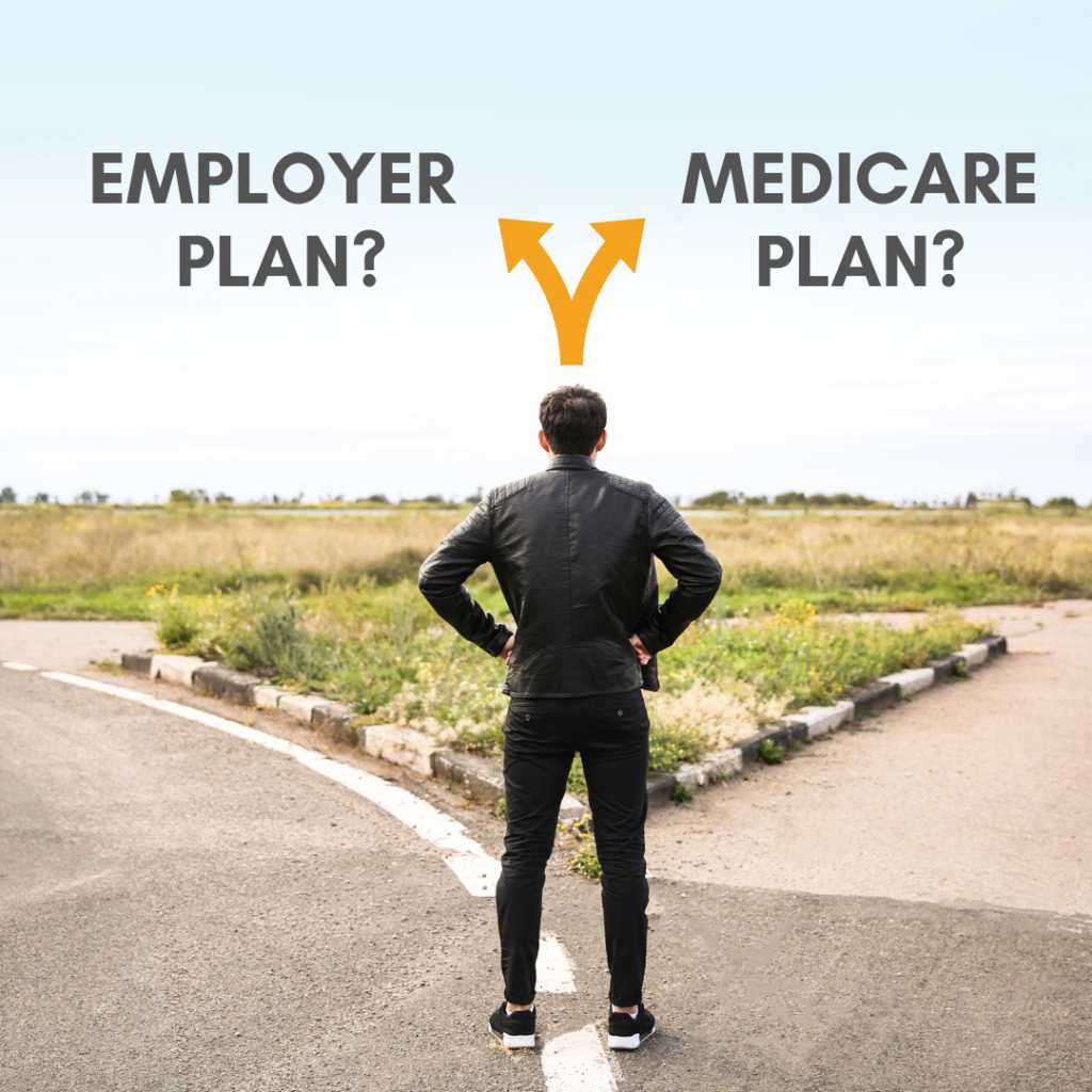 EMPLOYER OR MEDICARE