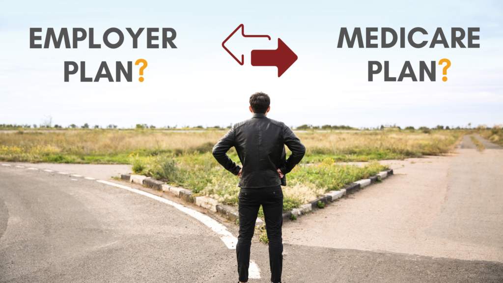 How does Medicare work with employer coverage