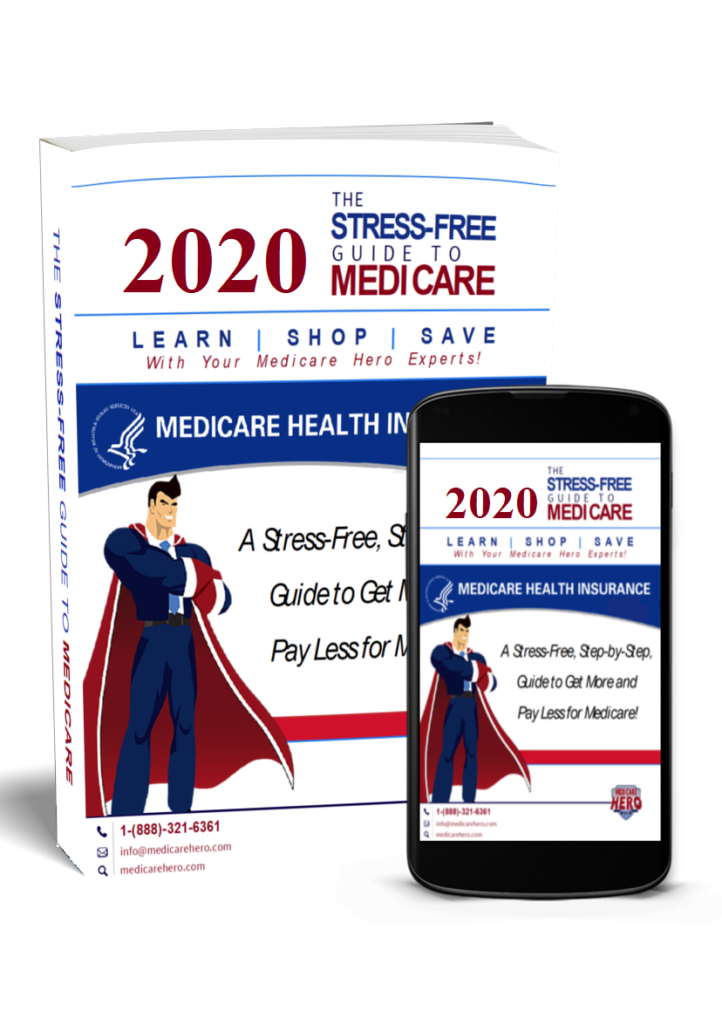 Get your free copy of the Stress Free Guide To Medicare Today